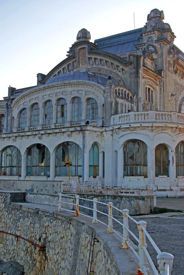 Het casino van Constanta stock afbeeldingen