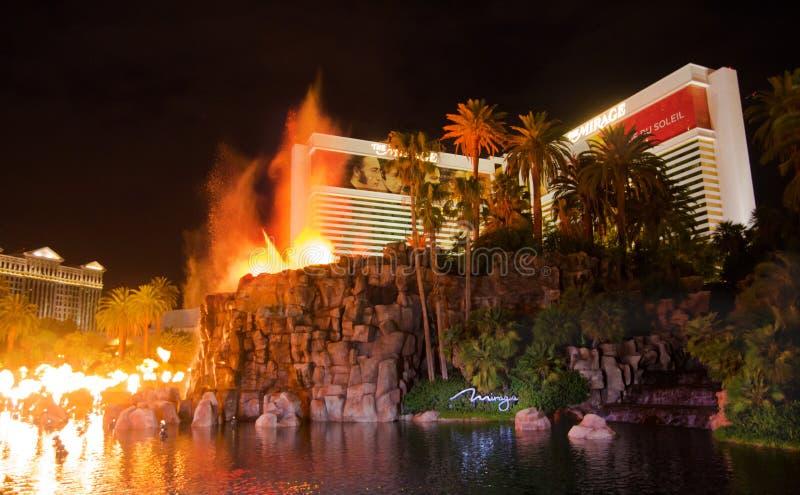 Het casino van de Luchtspiegeling in Las Vegas stock fotografie