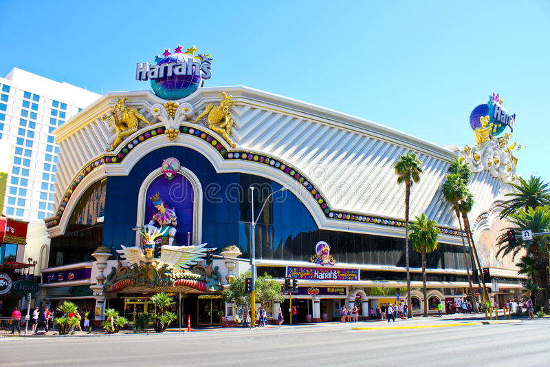Het Casino van Harrah, Las Vegas, NV royalty-vrije stock afbeelding