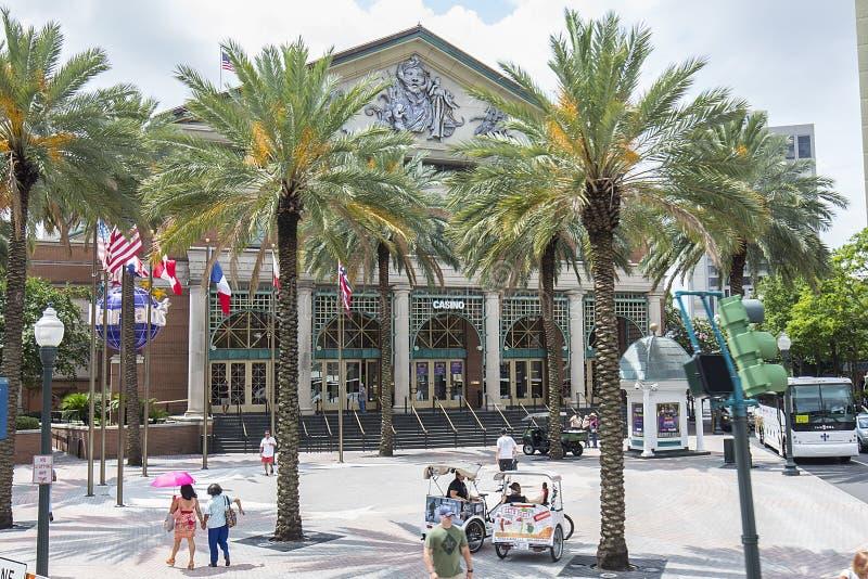 Het Casino van Harrah, New Orleans royalty-vrije stock fotografie