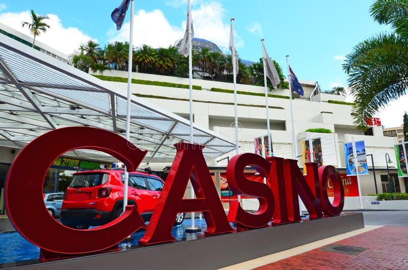 Het Casino van het Ertsaderhotel in Steenhopen Queensland Australië stock foto's