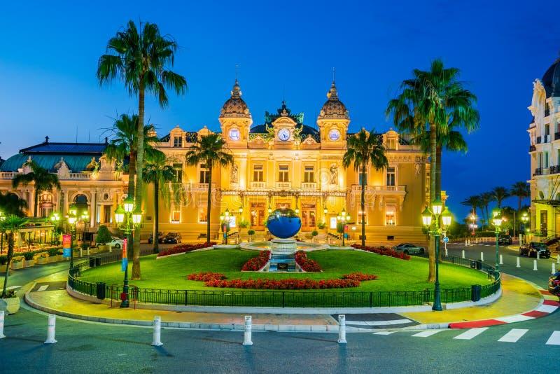 Het Casino van Monte Carlo in Monaco royalty-vrije stock afbeelding