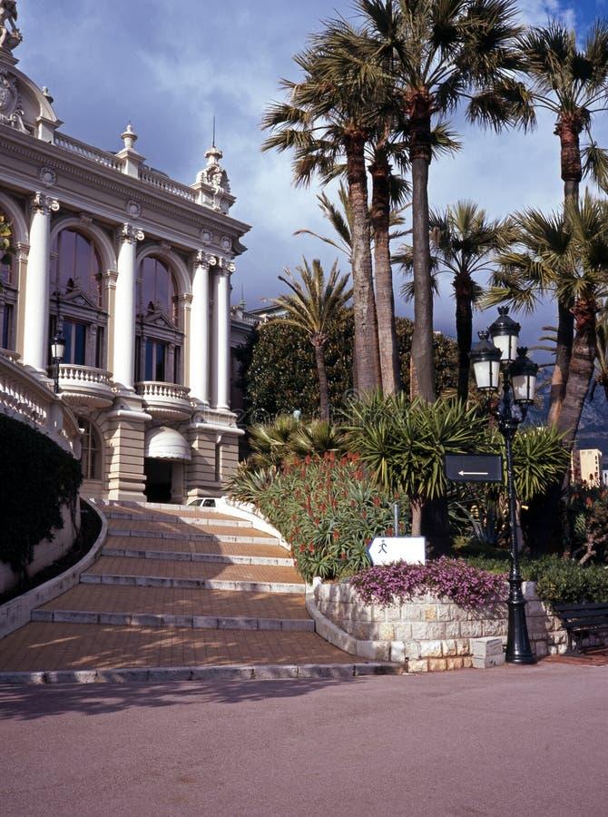 Het Casino van Monte Carlo, Monaco. stock fotografie
