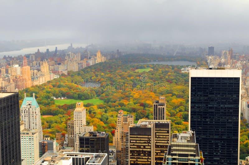 Het Central Park van New York stock afbeelding