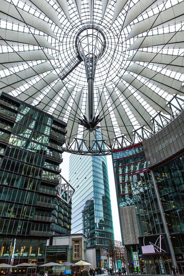 Het Centrum Berlijn van Sony royalty-vrije stock afbeelding