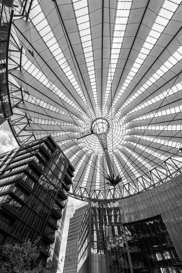 Het Centrum van Berlijn Sony royalty-vrije stock afbeeldingen