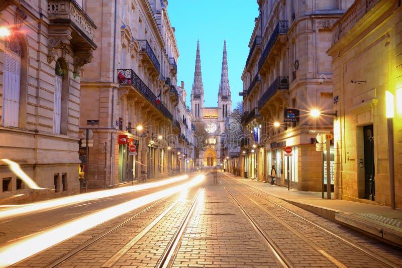 Het centrum van Bordeaux stock fotografie