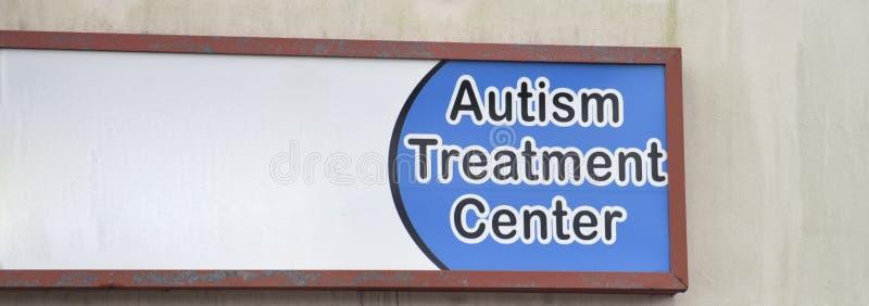 Het Centrum van de autismebehandeling stock afbeeldingen