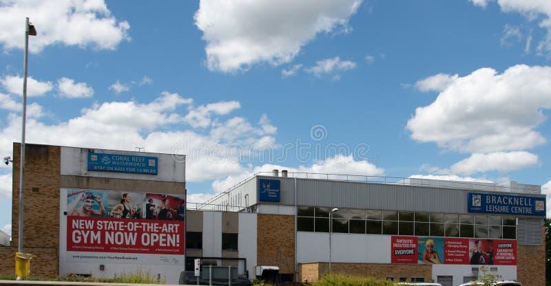 Het Centrum van de Bracknellvrije tijd stock afbeeldingen