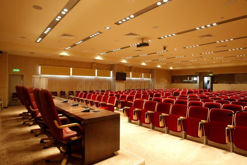 Het centrum van de conferentie stock afbeelding