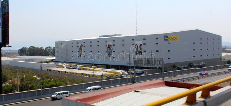 Het centrum van de Coppeldistributie stock afbeelding
