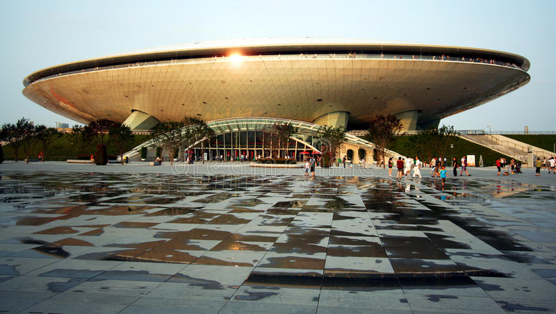 Het Centrum van de Cultuur van Expo royalty-vrije stock afbeeldingen