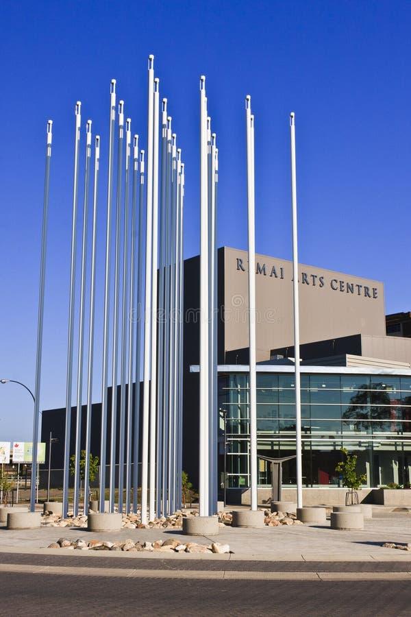 Het Centrum van de Kunsten van Remai royalty-vrije stock fotografie