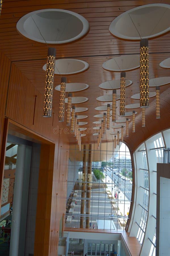 Het Centrum van de muziekstad het Openen stock afbeelding