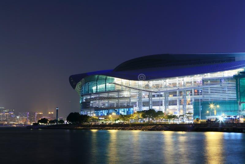 Het Centrum van de Overeenkomst en van de Tentoonstelling van Hongkong royalty-vrije stock fotografie
