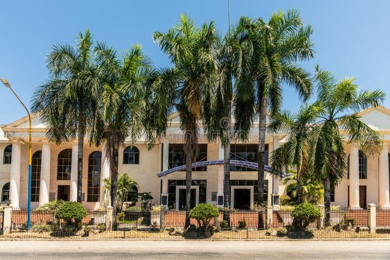 Het Centrum van de Palawanerfenis in Puerto Princesa, Palawan, Filippijnen stock foto's