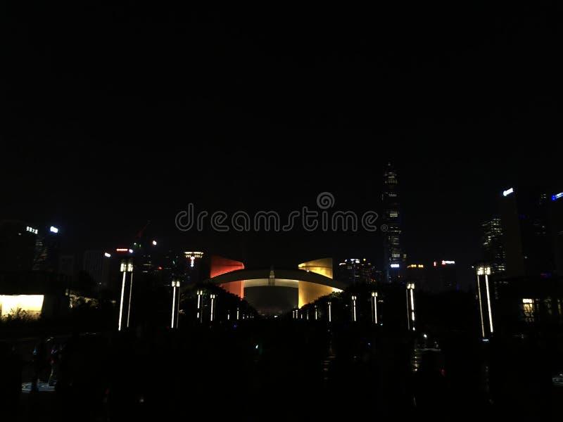 Het Centrum van de Shenzhenburger stock foto's