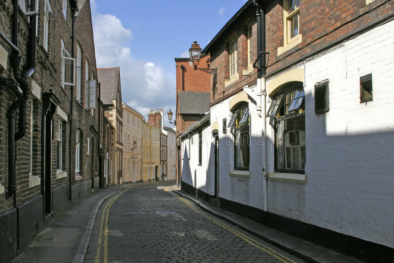 Het Centrum van de Stad van Chester, 2006 stock foto's