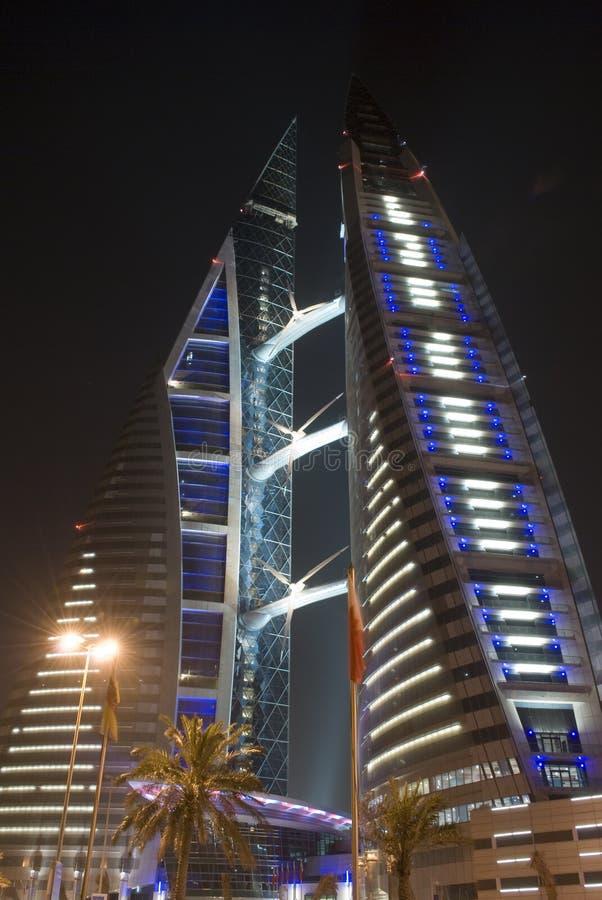 Het Centrum van de Wereldhandel, Bahrein stock fotografie