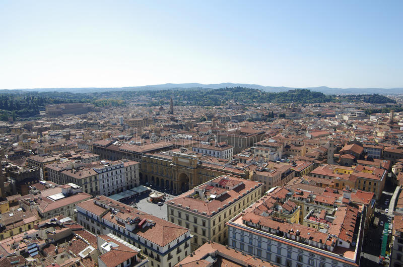 Het centrum van Florence stock afbeeldingen
