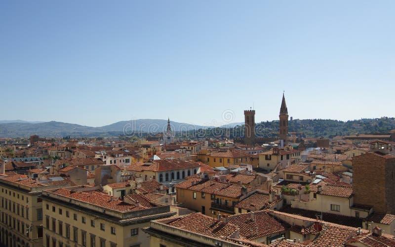 Het centrum van Florence royalty-vrije stock afbeeldingen