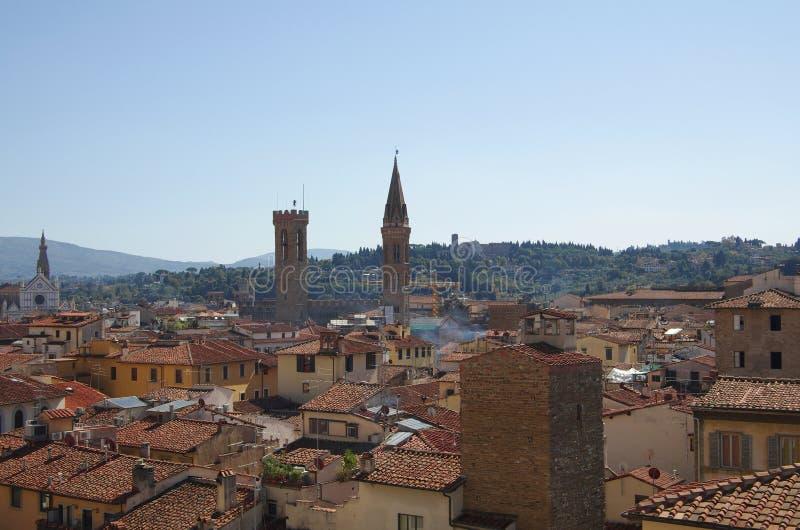 Het centrum van Florence stock fotografie
