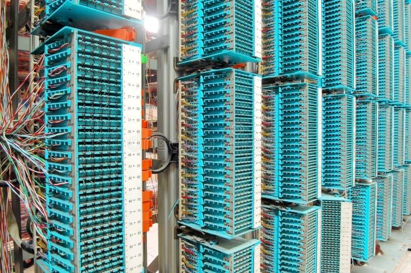 Het centrum van gegevens stock afbeeldingen