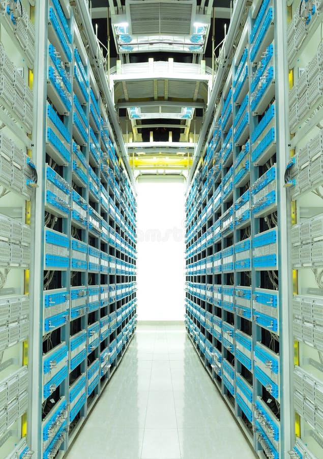 Het centrum van gegevens stock foto