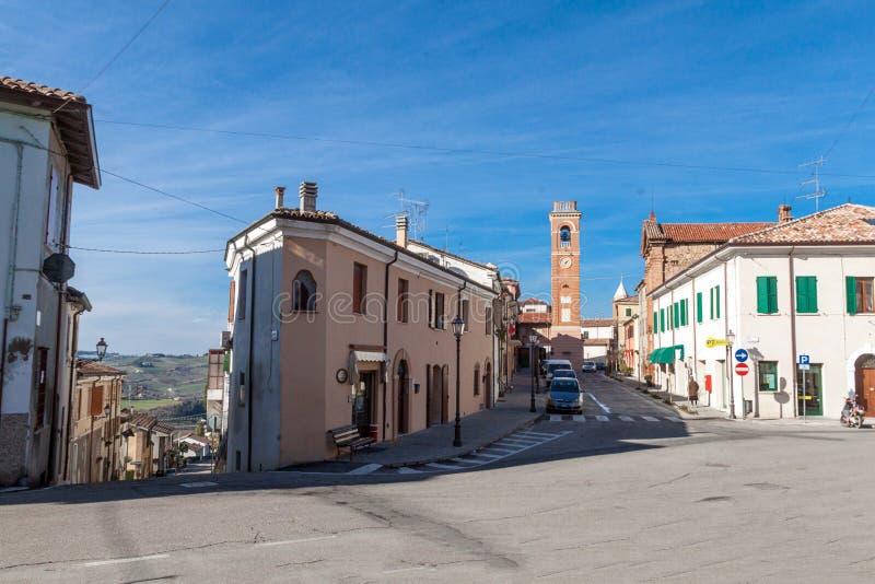Het centrum van montiano royalty-vrije stock foto's