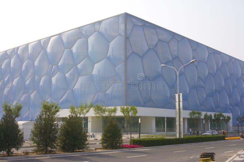 Het Centrum van Peking Aquatics royalty-vrije stock afbeelding