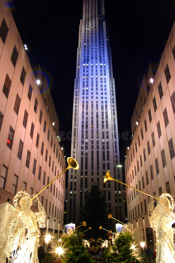 Het Centrum van Rockefeller, de Stad van New York royalty-vrije stock afbeeldingen