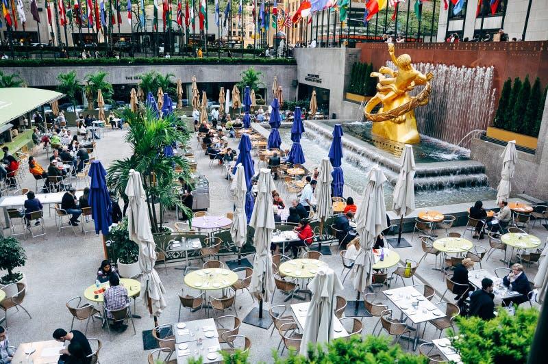 Het centrum van Rockefeller in New York stad royalty-vrije stock foto