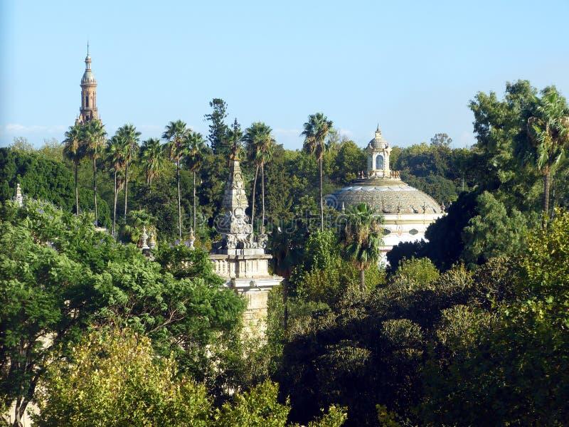 In het centrum van Sevilla royalty-vrije stock foto's