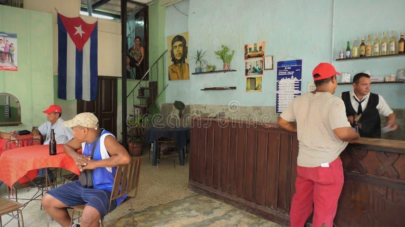 Het centrumstad van Cuba, Havana stock foto