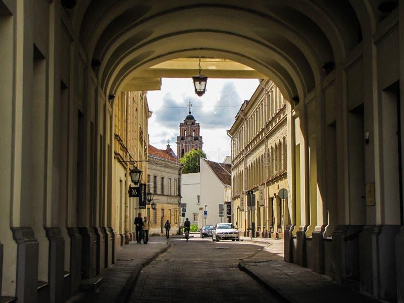 Het charmeren Vilnius royalty-vrije stock foto's