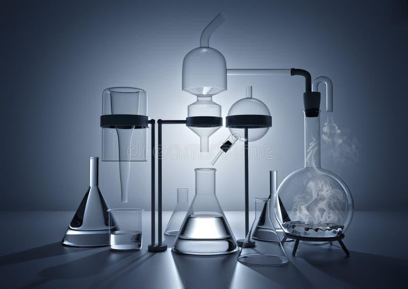 Het chemielaboratorium