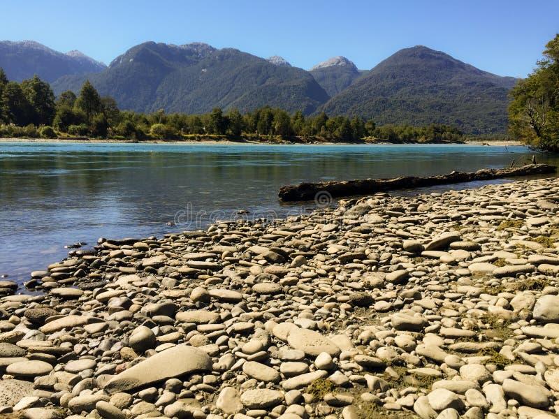 Het Chileense landschap van Patagonië royalty-vrije stock fotografie