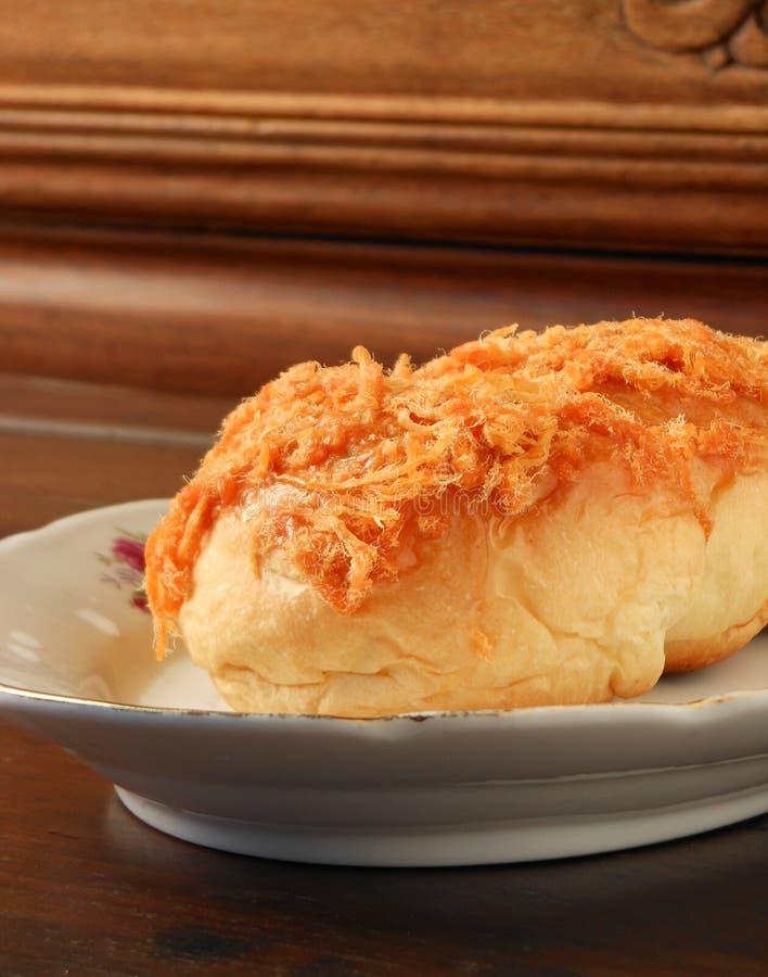 Het Chinese broodje van het broodvarkensvlees fu stock foto