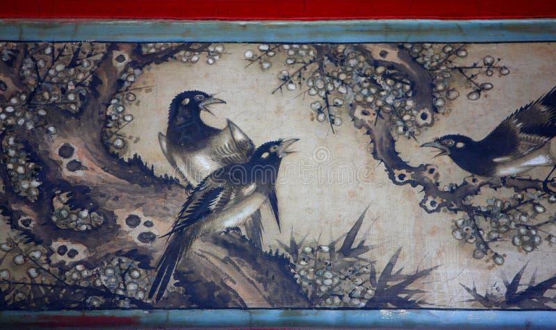Het Chinese klassieke schilderen stock illustratie