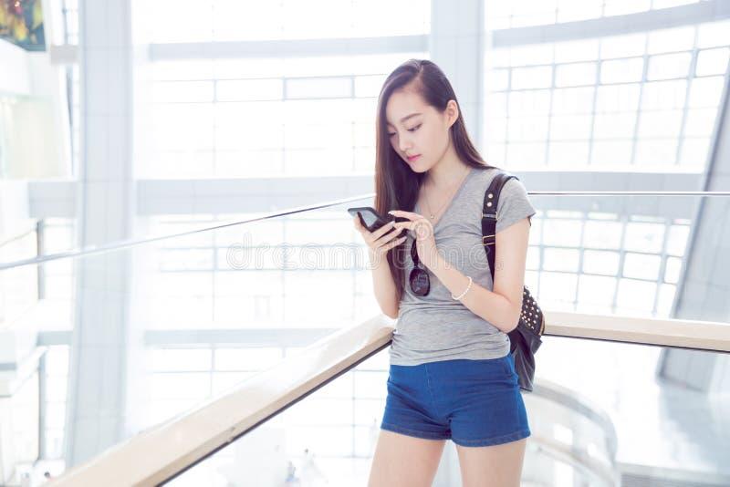 Het Chinese meisje van de manier royalty-vrije stock foto