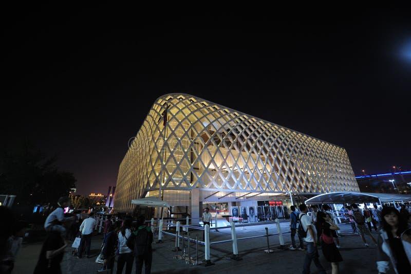 Het Chinese Paviljoen van Shanghai Frankrijk van Expo 2010 royalty-vrije stock fotografie