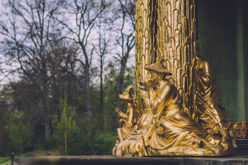 Het Chinese Paviljoen van het Theehuis in Potsdam royalty-vrije stock foto