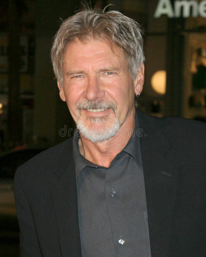 Harrison Ford royalty-vrije stock foto