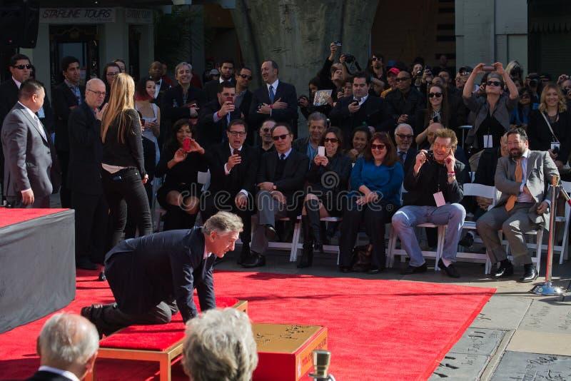 Het Chinese Theater van Robert De Niro stock foto's