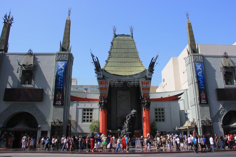 Het Chinese Theater van TCL royalty-vrije stock fotografie
