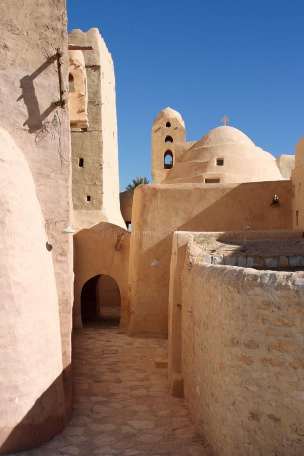 Het Christelijke Koptische Klooster van Egypte, St. Antony royalty-vrije stock fotografie