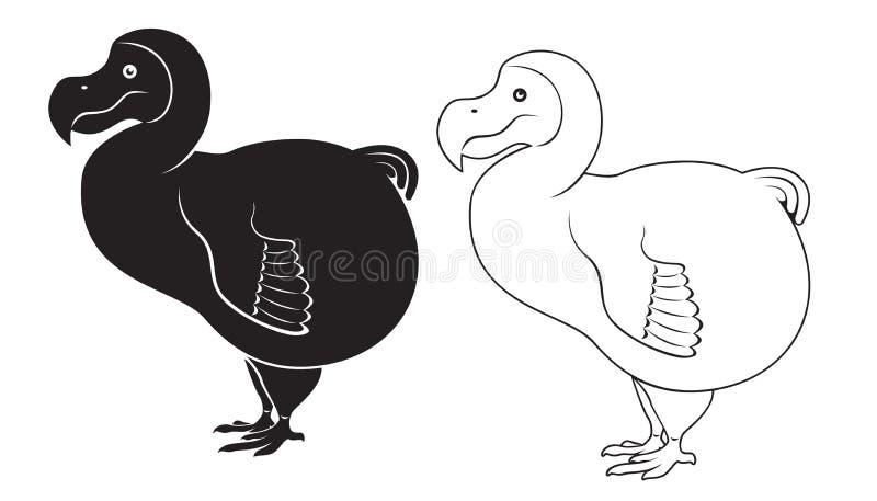 Dodo vector illustratie