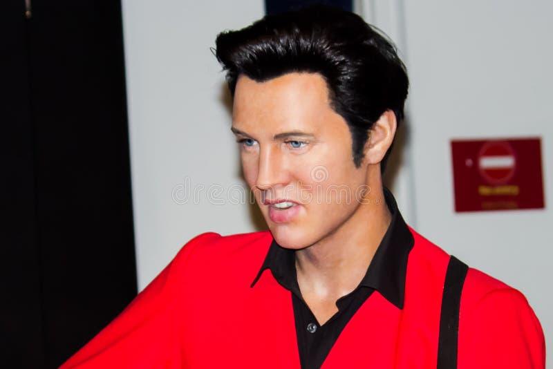 Het Cijfer van de Was van Elvis Presley royalty-vrije stock foto's