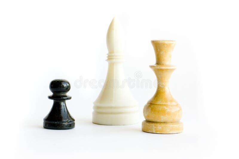 Het cijfer van het schaak royalty-vrije stock foto's