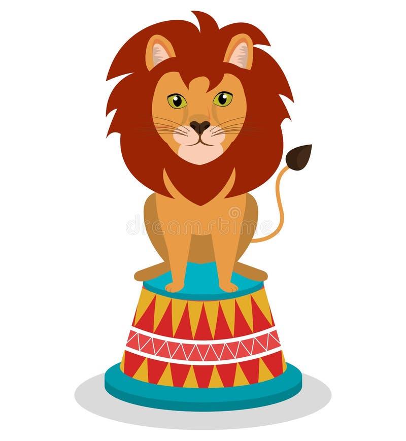 het circus toont ontwerp stock illustratie